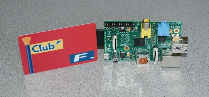 Raspberry Pi with Linksys WVC54GC IP camera